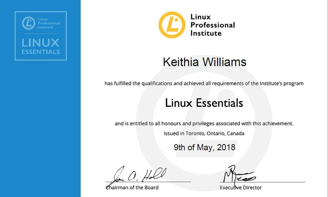 The Linux Essentials Exam How I Confronted My Linux Intimidation