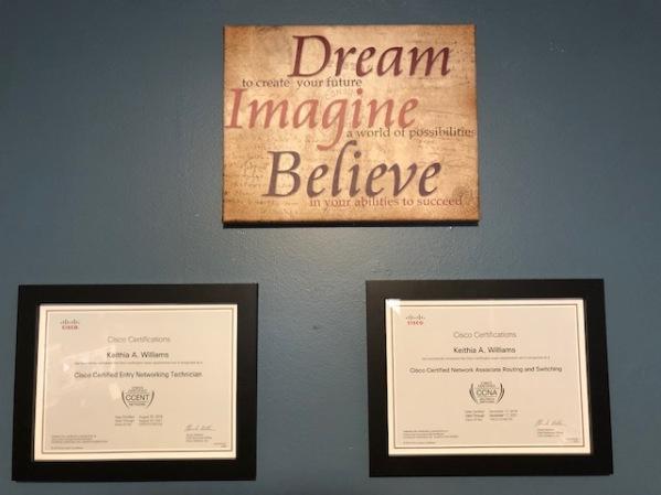 Wall of Accomplishments